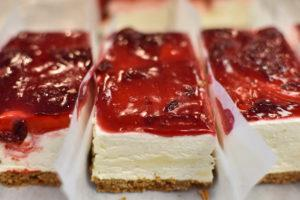 Cherry Cheesecake - The Fritter Shop